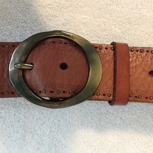 Fossil Belt size S Brown Waist Studded